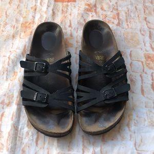 Birkenstock sandals Sz 39 two strap
